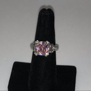 4ct Pink Sapphire Ring
